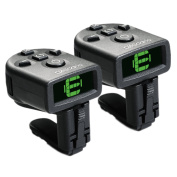 D'Addario NS Micro Clip-On Tuner, 2 pack