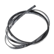 1pc 1.5m Black Pearl Celluloid Celluloid 6mm Width Binding for Acoustic Classic Guitar
