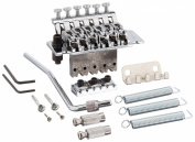 1pkg Floyd Rose Lic Ibanez Edge Style Double Tremolo System Silver Guitar Parts
