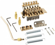 1pkg Licenced Floyd Rose Gold Guitar Tremolo Bridge Parts System