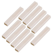 10pcs Guitar Real Blank Bone Nut for Acoustic Guitar 52mmx6mmx9mm