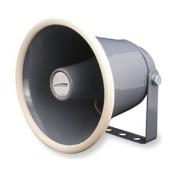 PA Horn, Weatherproof, Grey, 10 W