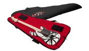 EVH Guitar Gig Bag, Black with Red Interior
