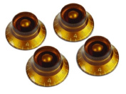 Gibson Gear PRKH-030 top hat knobs (4) / amber