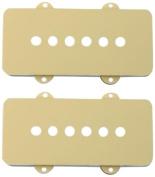 Fender 005-4442-049 Pickup Covers, Jazzmaster - Aged White