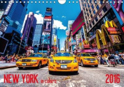 New York in Colors 2016 / UK-Version 2016