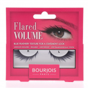 New Bourjois Flared Reusable Feathery Blue Volume Look Fake Eye Lashes 1 Pair