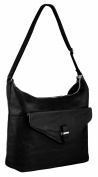EyeCatch - Womens Large Faux Leather Handbag Ladies Shoulder Bag