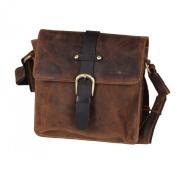 Greenburry Vintage Shoulder Bag Leather 22 cm brown