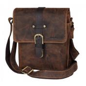 Greenburry Vintage Shoulder Bag Leather 23 cm brown