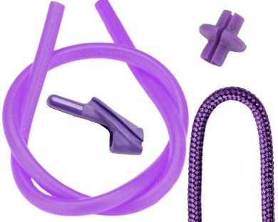 Pine Ridge Archery Archer's Combo Pack, 0.5cm , Purple