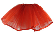 Hairbows Unlimited Red Ribbon Lined Basic Ballet Tutu