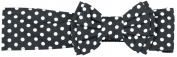 Rockabella Bow Head Band Headband black-white