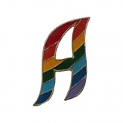 Letter A Pin