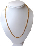 SMART AND ELEGANT GOLD EP 46cm ROPE NECKLACE IN GIFT BOX