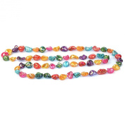 Joe Cool sugar lustre nugget 120cm Necklace bead strand made from shell
