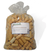 250 NEW Natural Wine Corks (Straight) for craft or decoration
