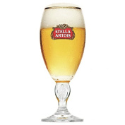 Stella Artois International Chalice Half Pint Glasses 10oz / 280ml - Set of 6 - Stella Beer Goblets