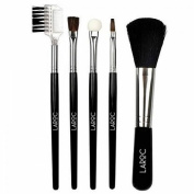 LaRoc 5 Piece Makeup Brush Cosmetic Set Kit Eyeshadow Foundation Powder Blush