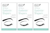 84 Pretty Eyebrow Shapers Wax Strips