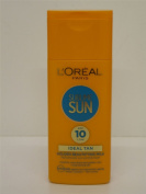 2 x L'Oreal Sublime Sun Golden Beautifying Milk SPF 10 2x200ml