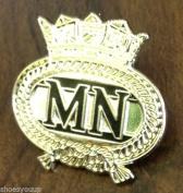 MERCHANT NAVY MILITARY ENAMEL LAPEL PIN BADGE