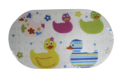 Kids Childs Baby Safety Ducks Long Strong Suction Anti Non Slip Bath Shower Mat
