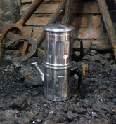 Ilsa 0006 006 Napoletana Espresso Coffee Maker Polished Aluminium 6 Cups