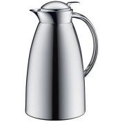 Alfi Vacuum Carafe Gusto TT, Thermal Carafe, Coffeepot, Screw Stopper, Metal Chromed, 1 Litre, 3522000100