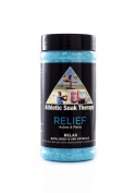 Relief Athletic Soak Therapy Aromatherapy Bath Salts -500ml- Natural Minerals for Soaking Aches, Pains & Stress Relief