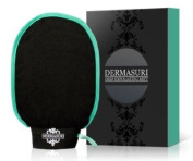 Dermasuri Deep Exfoliating Mitt - A Unique Body Scrub, Skin Exfoliating Treatment - Exfoliating Body Scrub - Soften Skin - Smooth Skin Before Tanning - Improve Circulation, Stimulate Collagen and Fight Ageing - Reduce Ingrown Hairs, Bumps, and Clogged  ..