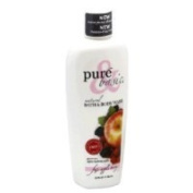 Pure and Basic Natural Bath and Body Wash, Fuji Apple Berry, 12 Fluid Ounce