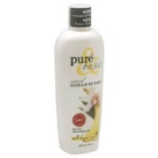 Pure and Basic Natural Bath and Body Wash, Wild Banana Vanilla, 12 Fluid Ounce