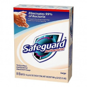 Safeguard Bar Soap Antibacterial Beige 8 Bars-1 pack
