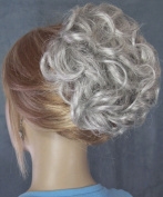 HAYLEY Clip On Hairpiece - 51 Grey with 25% Brown