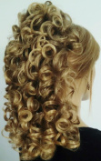 RIVA Banana Clip Hairpiece by Mona Lisa - 8T124 Brown-Blonde