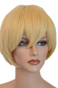 Epic Cosplay Aether Butterscotch Blonde Short Straight Cosplay Wig 30cm
