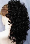 RIVA Banana Clip Hairpiece by Mona Lisa - 1B Black