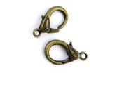 1 Piece Jewellery Making Charms Pendant Ancient Bronze Colour Retro Findings Supplies GAVRBF1 Lobster Clasp