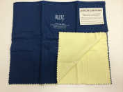 Blitz Jewellery Rouge Cloth / Polishing Cloth 38cm x 60cm Blue/ White