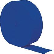 Club Pack of 12 Cobalt Blue Red Crepe Paper Party Streamers 25m