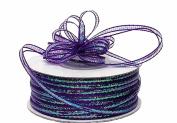 "3mm-1/8"" Organza Pull Bow Ribbon Purple 50yd"