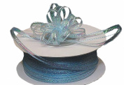 "3mm-1/8"" Organza Pull Bow Ribbon Light Blue 50yd"