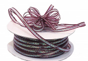 "3mm-1/8"" Organza Pull Bow Ribbon Burgundy 50yd"
