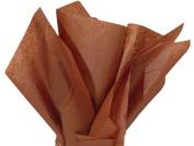 Raw Sienna Tissue Paper 50cm X 80cm - 48 Sheets Pack