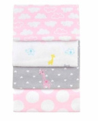 Carter's Child of Mine Love Is in the Air Pink Blanket Set of 4