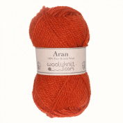 Woolyknit Aran | 100% British Worsted Hand Knitting Wool Yarn 50g Balls