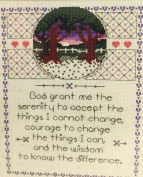 "Designs for the Needle ""My Prayer"" Counted Cross Stitch Kit 5215"