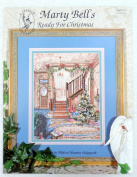 Marty Bell's Ready for Christmas Counted Cross Stitch Pattern Leaflet 351