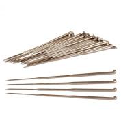 Bulk Pack, Size 36 Gauge Triangular Point Felting Needles, 7.6cm Long, 9 total Barbs with Medium Sized Spacing, 3 Barbs Each Edge with 3 Edges, Set of 50 Needles.